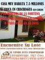 GANGA!! 7.500 M2 EN 16 MILLONES UBICADO EN CHACHAGUA. 15 MINÚTOS DE FORTUNA
