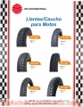 Llantas/Cauchos para Motos y Automóviles.