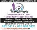 Limpieza y multiservicios Novalimpio Cía Ltda
