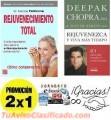 Rejuvenecimiento Total - Dr. Nicholas Perricone Y Rejuvenezca y Viva Mas Tiempo - Deepak