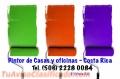 PINTAMOS CASAS, OFICINAS, TECHOS, CANOAS, FACHADAS, TAPIAS, SOLUCION DE HUMEDAD Costa Rica