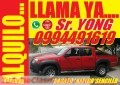 ALQUILO CAMIONETA Mazda BT-50 Doble Cabina a diesel 4x4 full 2010 Y 2013 con Chofer