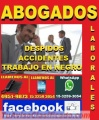 ABOGADOS LABORALES, TRABAJO EN NEGRO, DESPIDOS, ACCIDENTES, EN CAPITAL FEDERAL, ZONA ONCE