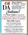 Dante alighieri el palomar caseros - clases italiano
