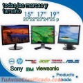 COMPUSAC S,A MONITORES LCD