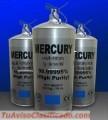 Virgen de plata mercurio líquido