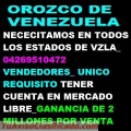 Orozco De Venezuela-04269510472 Somos Una Empresa Que Distrubuye Gas Refrigerante A nivel