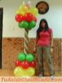 Curso, Taller con globos
