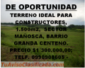 TERRENO DE OPORTUNIDAD