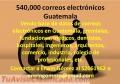 540,000 correos electrónicos Guatemala