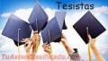 ASESORIAS INTEGRALES PARA TESISTAS A DOMICILIO U ONLINE