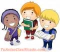 Tareas Dirigidas para niños de Preescolar a3er Grado. Apoyo Escolar y Nivelación