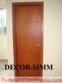 Muebles de cocina closet baños puertas en melamina mesones de granito.