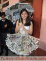 Reciclaje manualidades vestidos ecologicos carros de carton disfraces hadas princesa robot