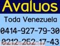 AVALUOS INMUEBLES, MAQUINARIA, EMPRESAS, SUDEBAN, SUNDDE