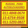 Poliuretano Ruedas 011-5293-0827 Ruedas Poliuretano