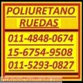 Poliuretano Ruedas 011-5293-0827