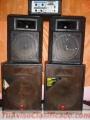 Sistema de sonido con cuatros parlantes