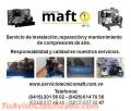 Instalacion reparacion de compresores de aire en Caracas