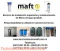 Instalacion mantenimiento reparacion de filtros de agua en caracas