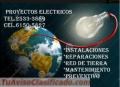 Electricista profesional, reparación, mantenimiento e instalación
