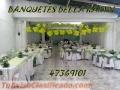 Banquetes Bella Karyn Guatemala Servifiestas Alquiler de Alfombra Mesas Cocteleras Toldos