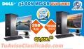 Llevate 2 Computadoras a Q2,650.00 DELL Intel CORE2 DUO Con 2Gb RAM  10 Visa CuotasQ265.00