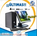 ULTIMAS! Computadoras DELL Optiplex760 a Q1,400.00 Con 4GB RAM y 250GB HDD Aprovecha