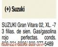 Se vende Jeepeta Suzuki Grand Vitara XL-7 en perfectas condiciones: