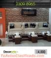 Mobiliario para salón de belleza_ #Decorarte_GT
