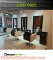 AUXILIARES para salones de belleza → #Decorarte_gt