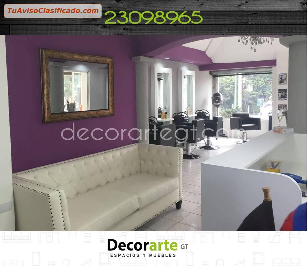 Dise o de interiores para salones de belleza decorarte - Diseno de salon ...