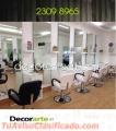ESTACIÓN DE CORTE para salones de belleza → #Decorarte_gt