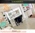 Estación de maquillistas para salones de belleza -- #Decorarte GT