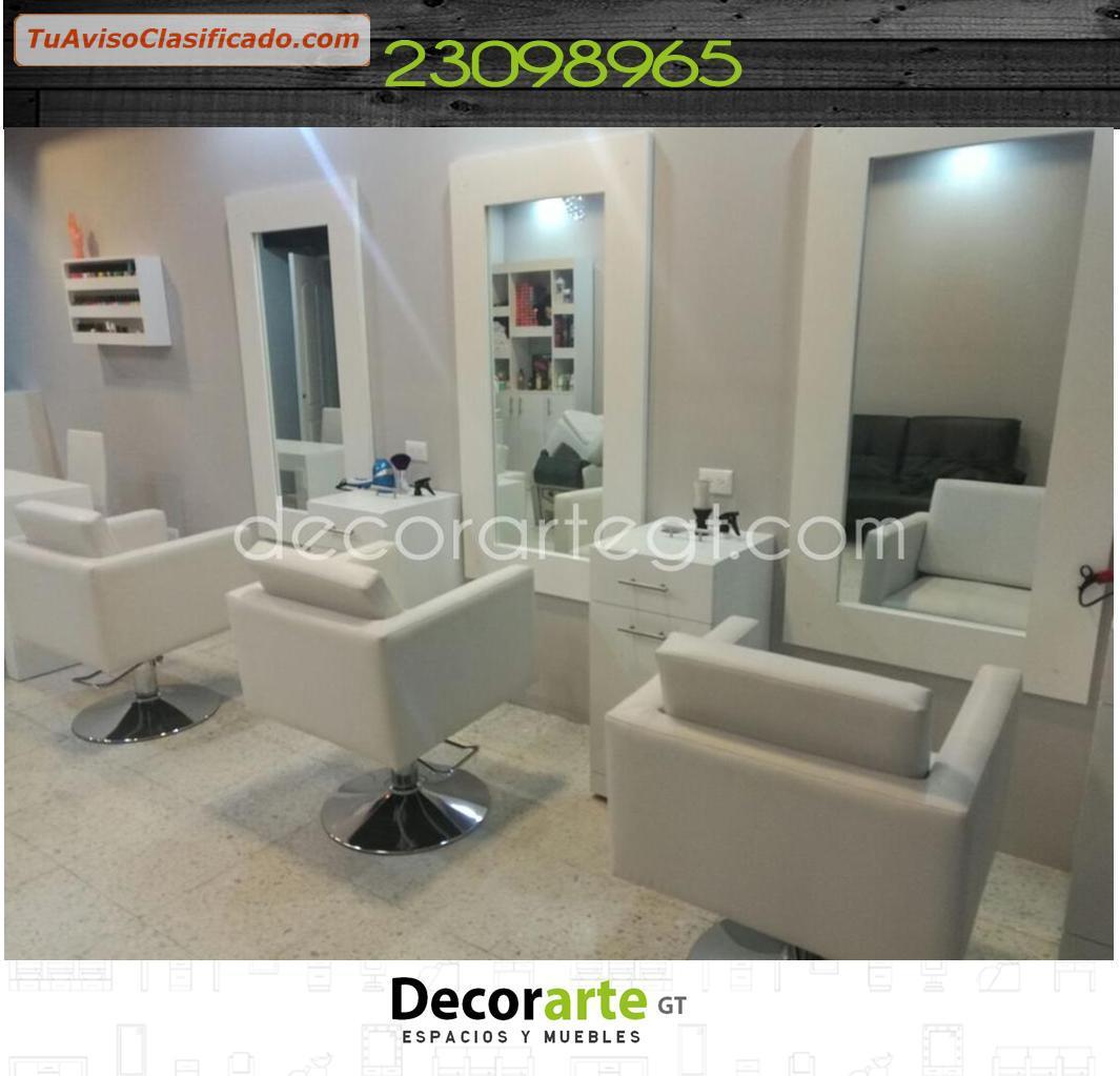 Dise o de interiores para salones de belleza decorarte for Sillas de salon de diseno