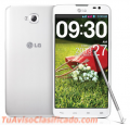 Vendo celular Lg G Pro Lite, color blanco, buen estado