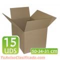 Cajas y material de embalaje para mudanza