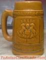 Tarro o Jarra de Cerveza Cabro Antiguo