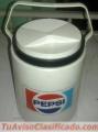 Hielera Plastica Antigua Pepsi