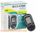 ** Glucómetro ACCU-CHEK ACTIVE **. Usado. En Buen Estado y Completamente Operativo.