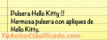 Pulsera Hello Kitty Apliques !!