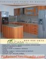 Fabricación Topes de Cocina, Granito y Granitox, Gabinetes, Puertas
