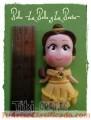 Apliques en porcelana fría, de las princesas de Disney