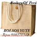 BOLSAS ECOLOGICAS, bolsas publicitarias ecológicas