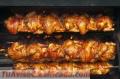 Horno Rostizador, capacidad para 10 pollos enteros