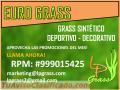 Lp Grass Sintetico INSTALADO a $16.50 el m2 #999015425