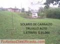 SOLAR EN TRUJILLO ALTO DE 1,879mts ,PRECIOS ESPECIAL $ 55,000 CONSTRUYE LA CASA DE SUENOS