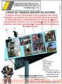 TRABAJO SEGURO EN ALTURAS PARA INSTALADORES DE VALLAS