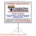 """NUESTRA DIVERSIDAD """"El Periódico LGBTI de Costa Rica"""""""