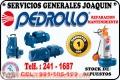 Tecnicos especializados de electrobombas PEDROLLO 241-1687